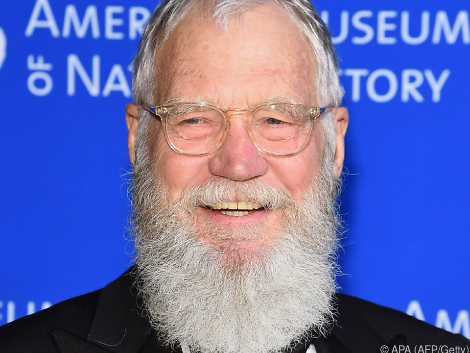 Moderator David Letterman gilt als Fernseh-Legende