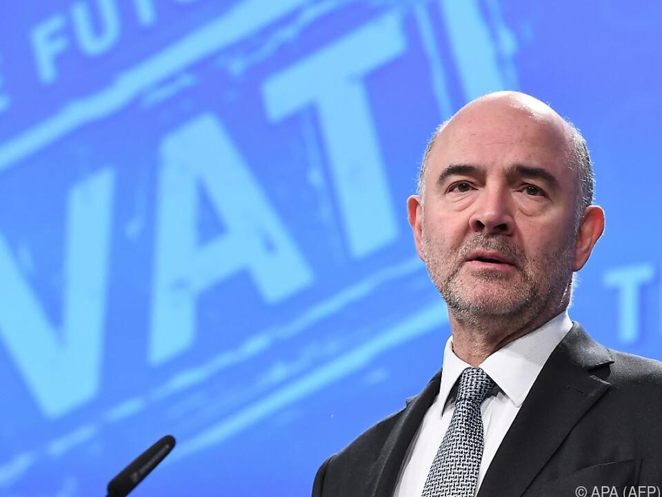 Moscovici fordert von Staaten Transparenz
