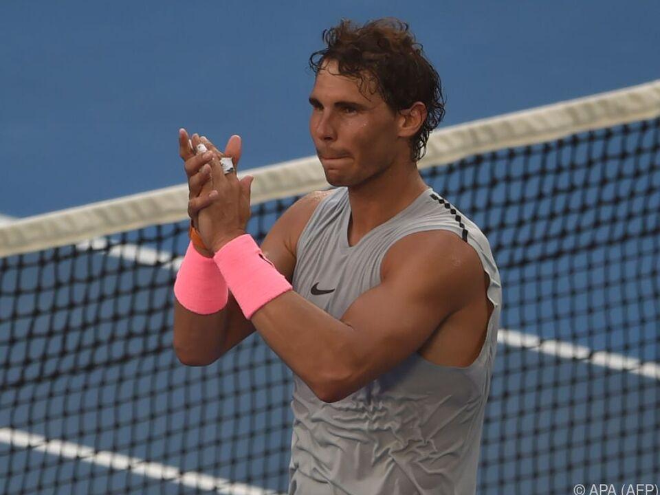 Nadal hatte weit mehr Mühe als das Resultat aussagt
