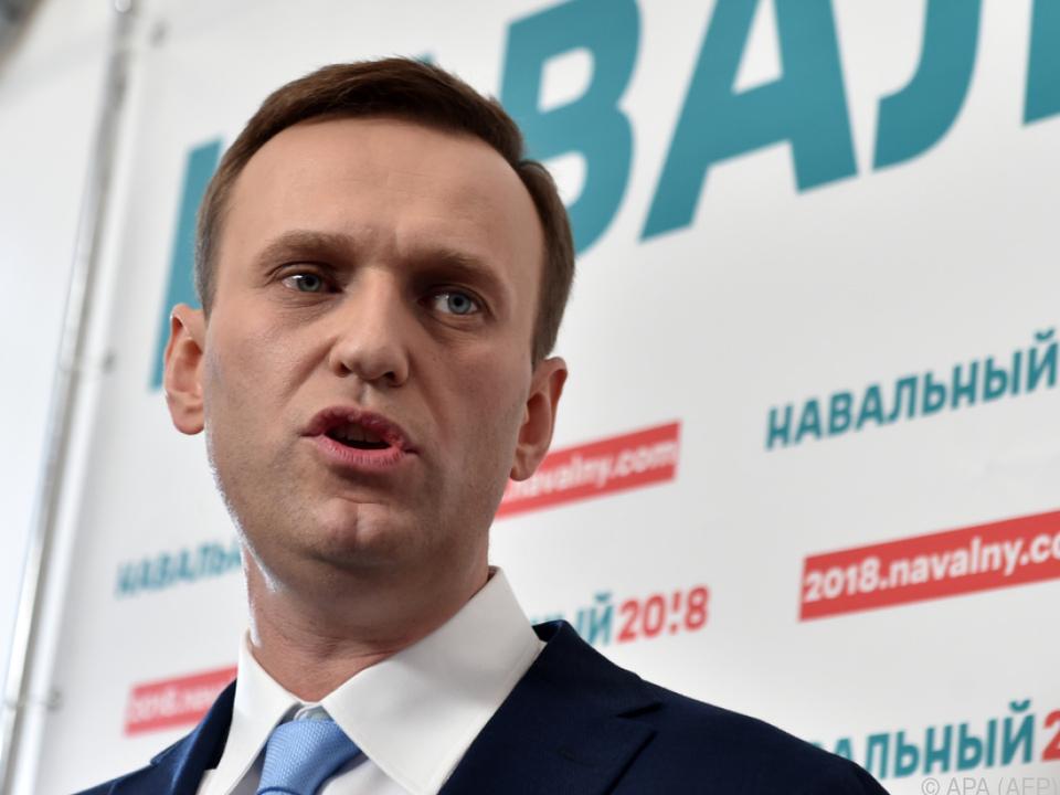 Nawalny will den Ausschluss von der Wahl nicht akzeptieren