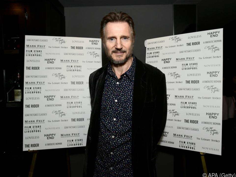 Neeson hofft auf die #MeToo-Bewegung
