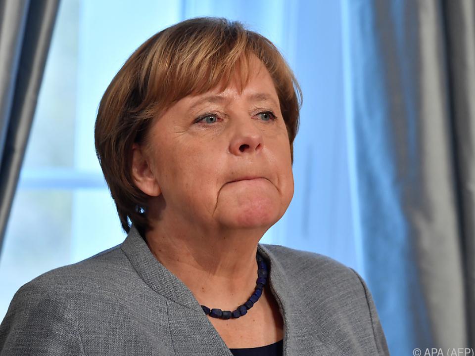 Noch-Kanzlerin Angela Merkel will eine weitere Amtszeit