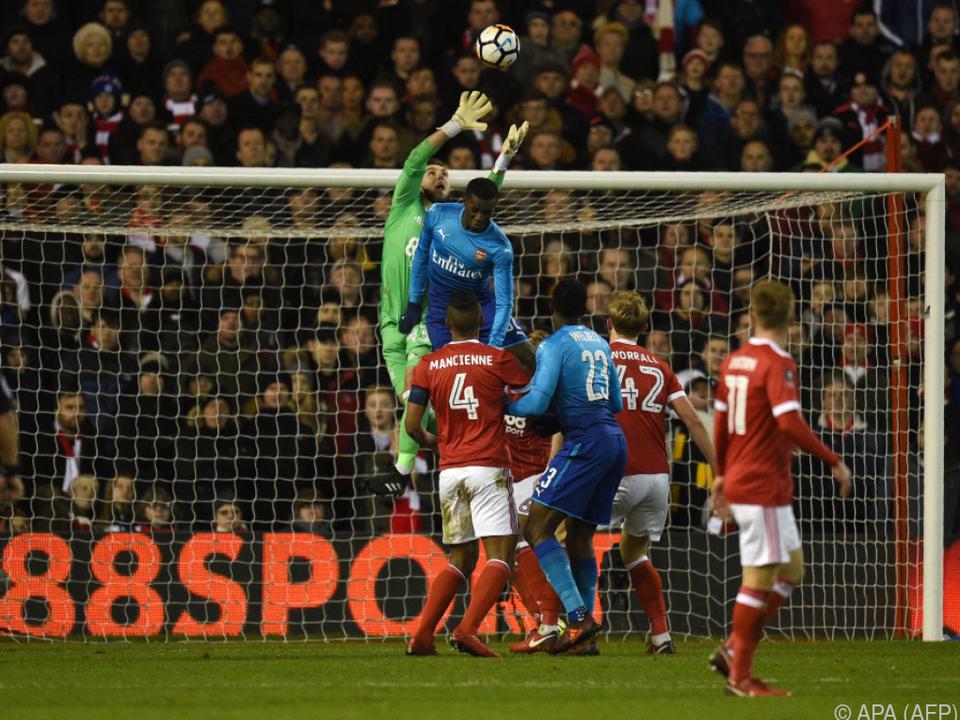 Nottinghams Keeper hat für Arsenal zu oft gehalten