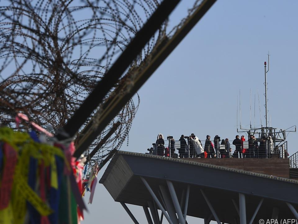 Nur wenige Kilometer trennen die Olympia-Stadt von Nordkorea