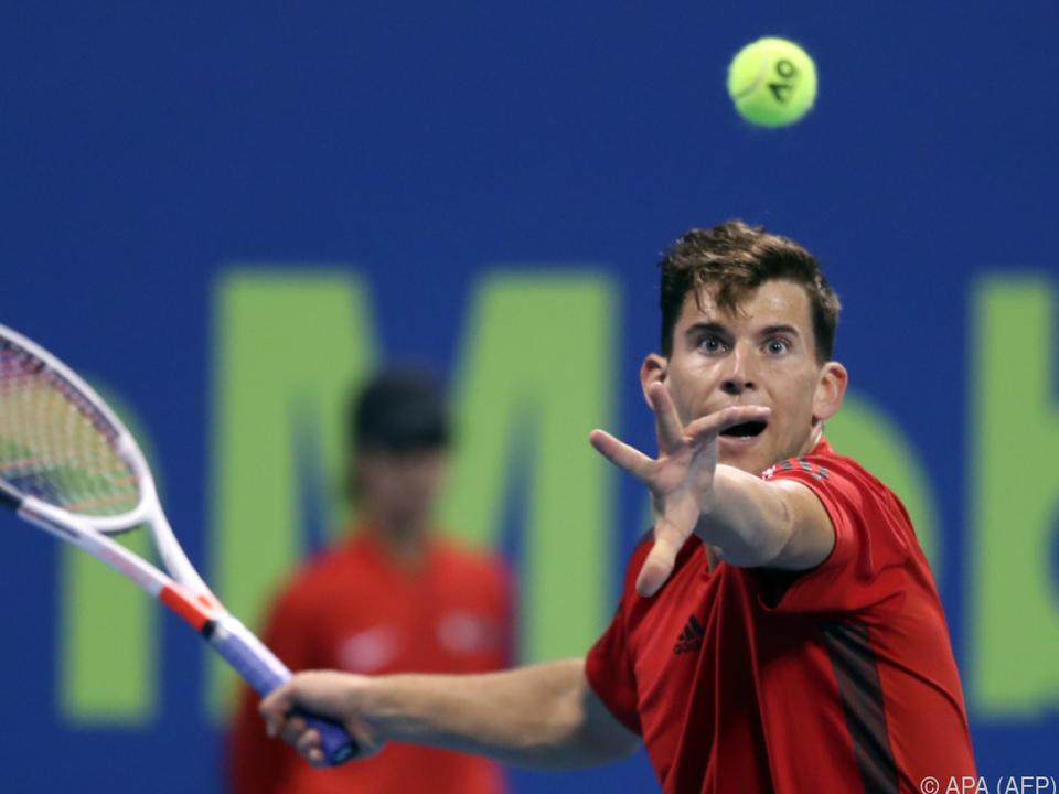 Österreichs Tennis-Star Dominic Thiem