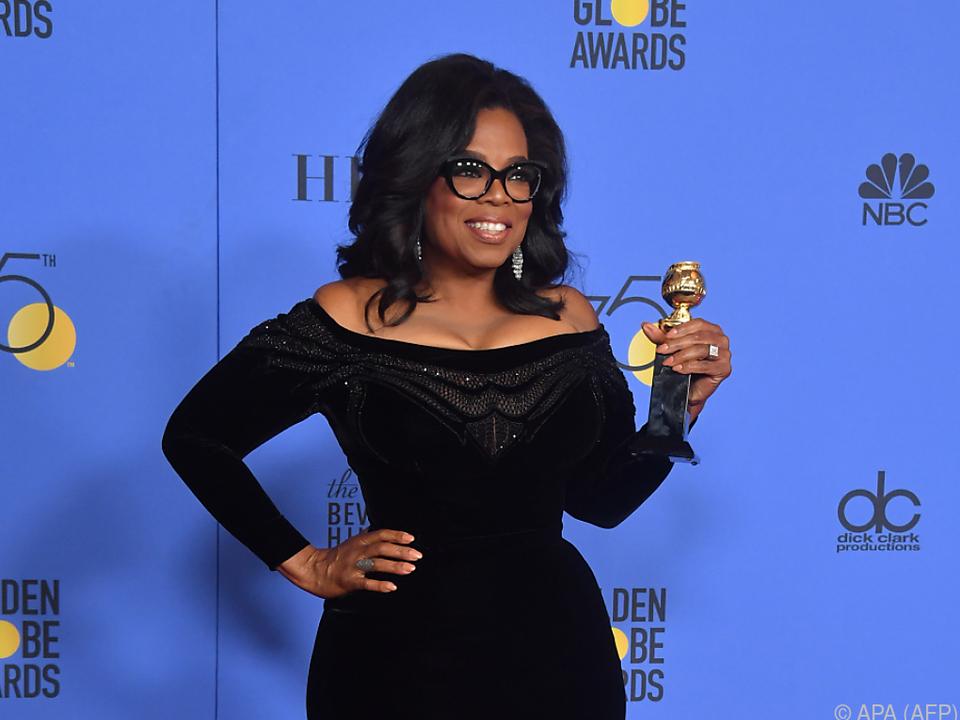 Oprah hielt eine emotionale Rede bei den Golden Globes