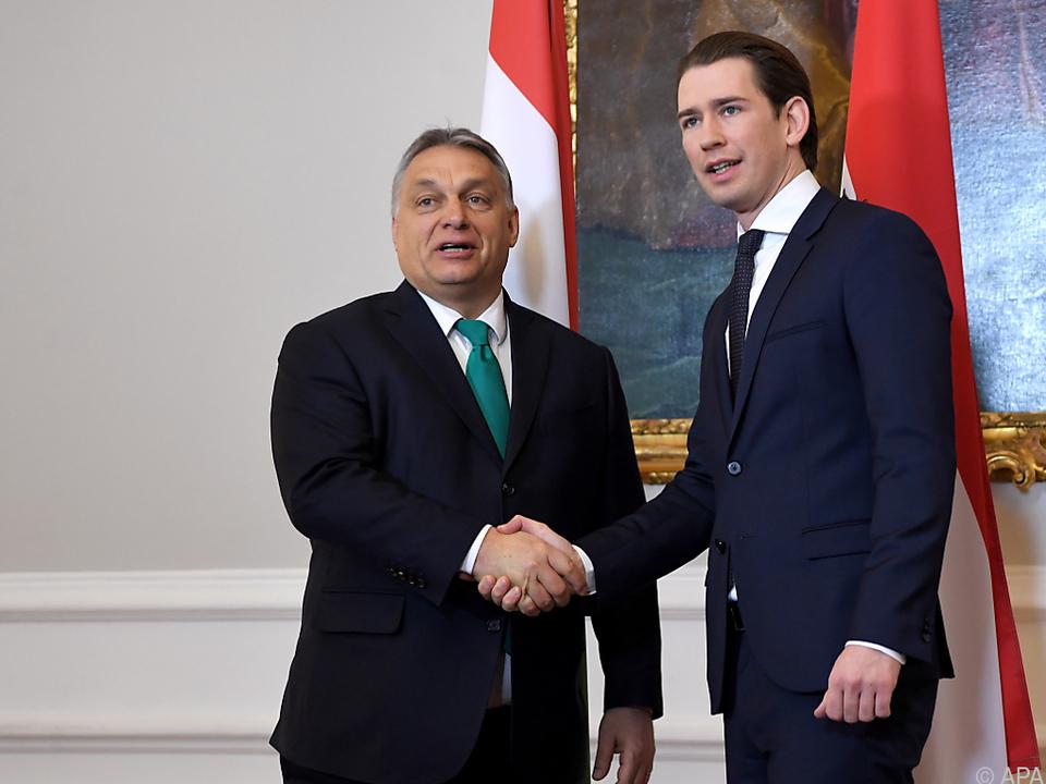 Orban zu Gast bei BK Kurz