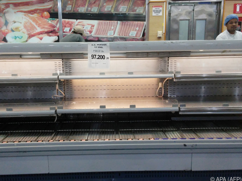 Plünderungen wegen Lebensmittelknappheit