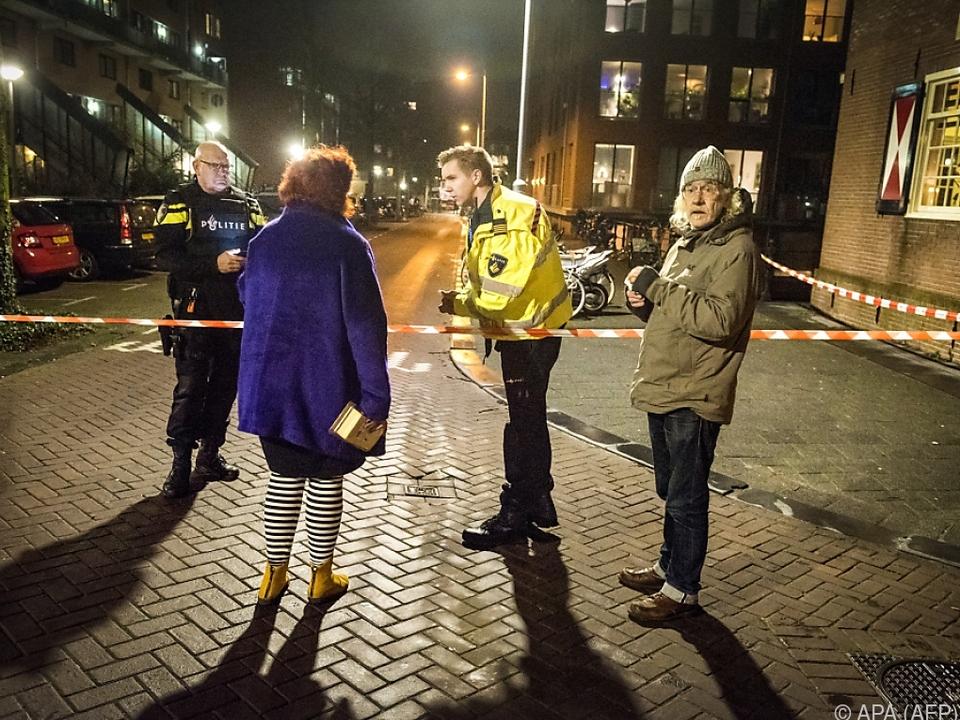 Polizei riegelte Tatort ab