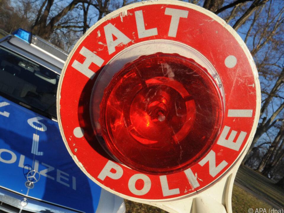 Polizei stoppte den Mann erst nach 30 Kilometern