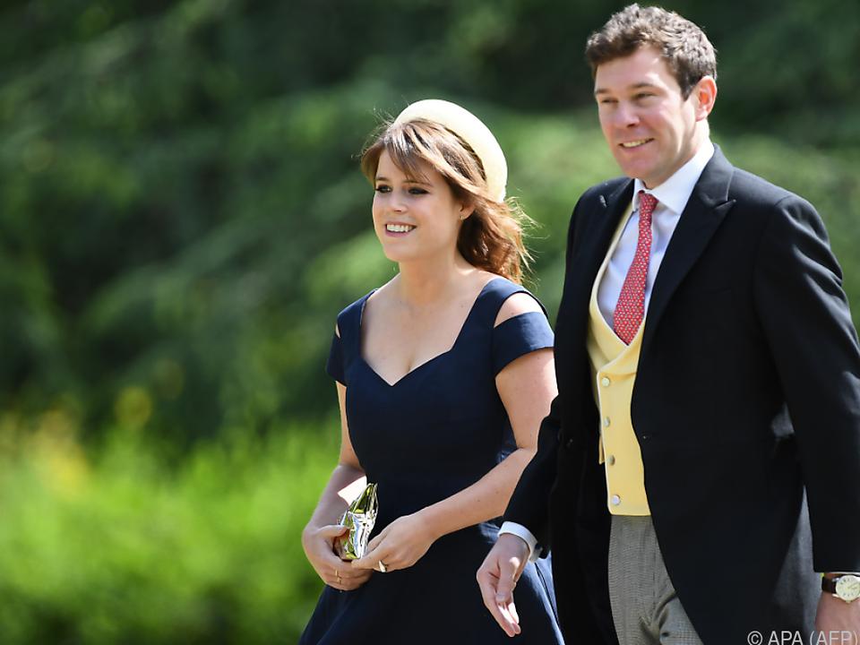 Prinzessin Eugenie und ihr Verlobter Jack Brooksbank