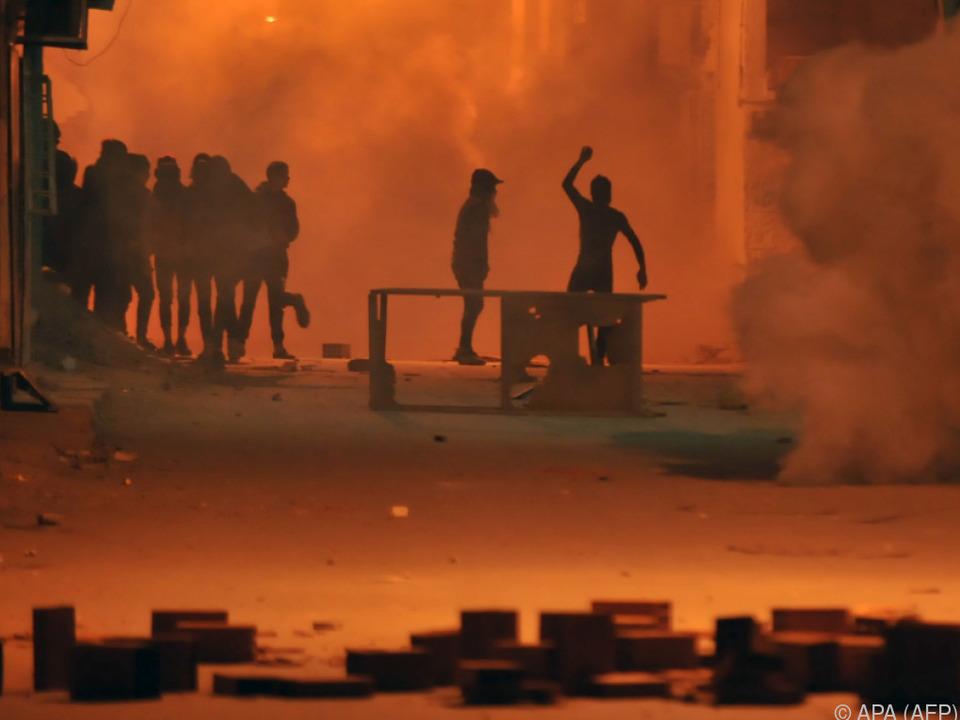 Proteste richten sich u.a. gegen Sparpolitik der Regierung