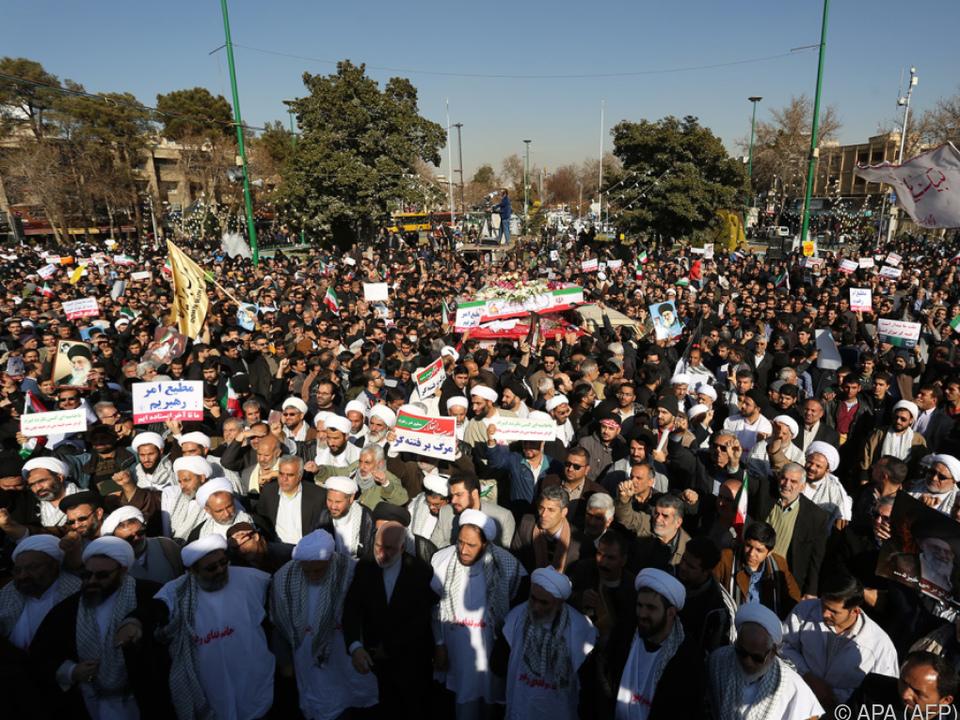 Proteste zwischen Anhängern und Gegnern des Regimes werden befürchtet