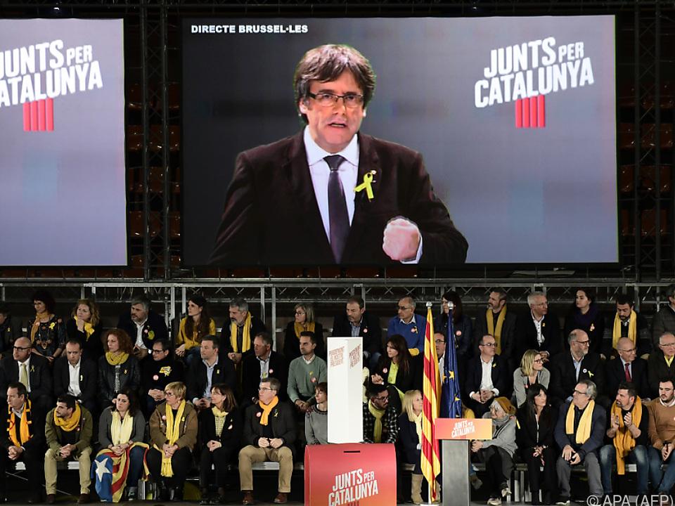 Puigdemont soll erneut Regierungschef Kataloniens werden