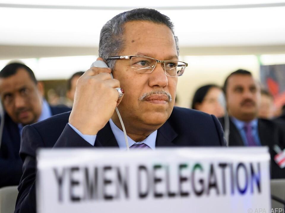 Regierungschef Ahmed bin Dagher sprach von einem \