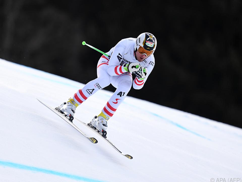 Reichelt siegte im Vorjahr in Garmisch