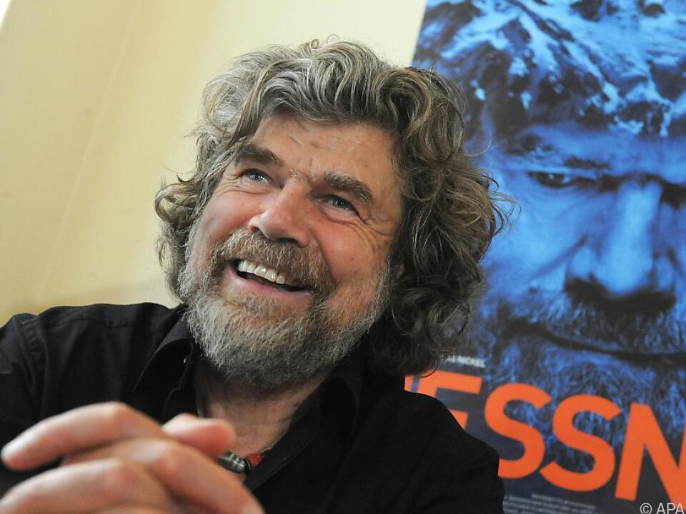 Reinhold Messner zieht es hinter die Kamera