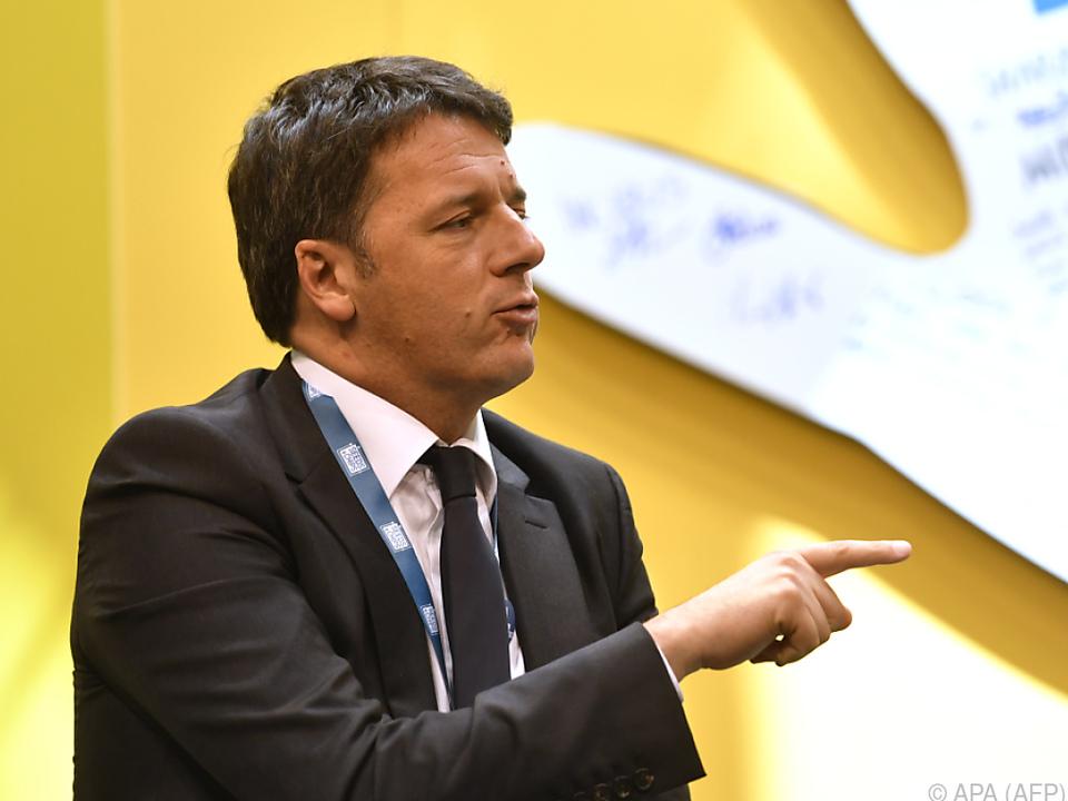 Renzi wird ein sehr selbstsicherer Führungsstil vorgeworfen