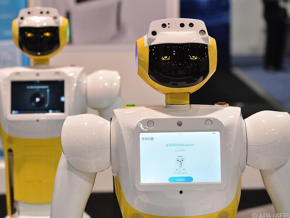 Roboter versprechen Produktivitätssteigerungen