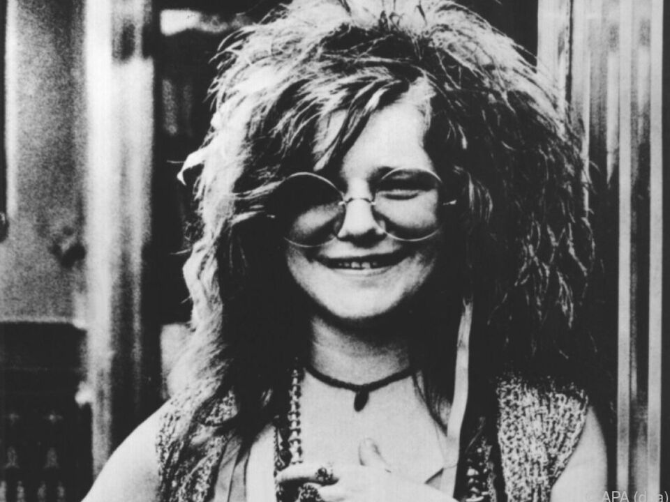 Rockröhre Janis Joplin ist Mitglied im \