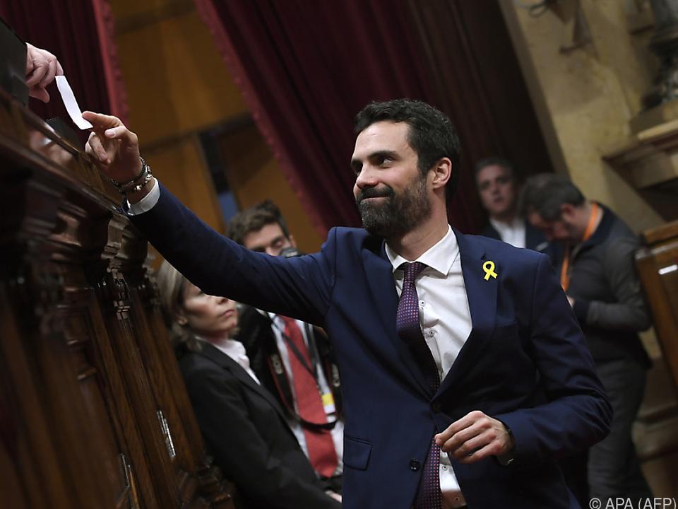Roger Torrent tritt für die Unabhängigkeit Kataloniens ein
