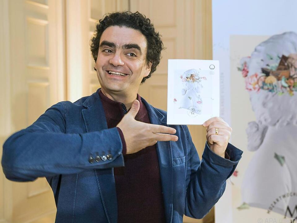 Rolando Villazon leitet ab 2019 die Mozartwochen
