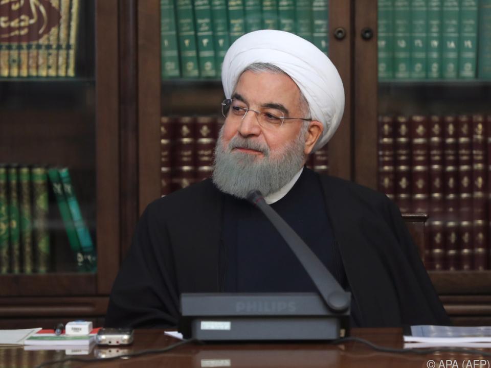 Rouhani feierte Atomabkommen als Sieg für sein Land