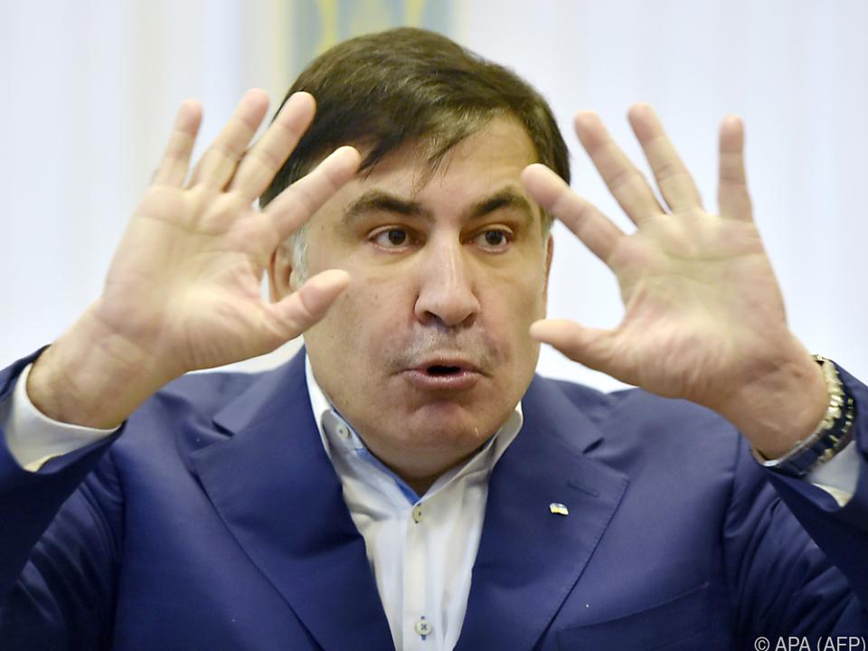 Saakaschwili wurde in Abwesenheit schuldig gesprochen