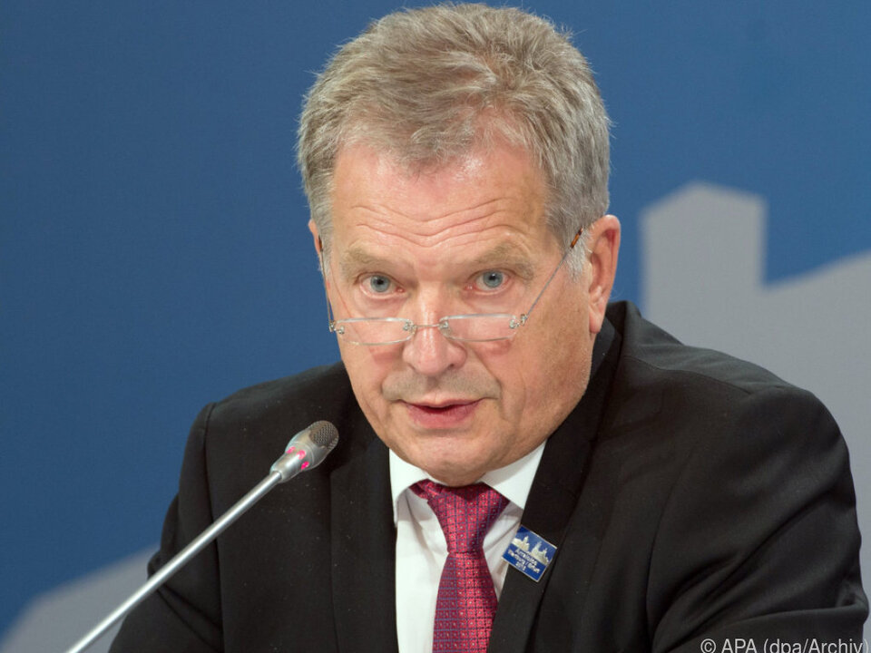 Sauli Niinistö gewann deutlich