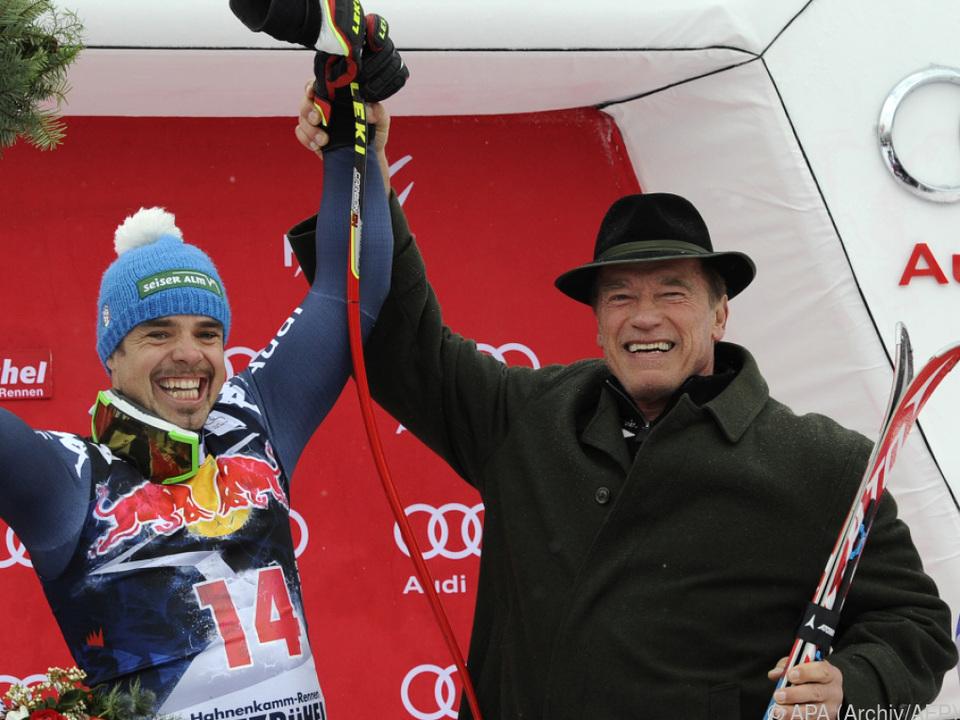 Schwarzenegger kommt wieder zum Skirennen