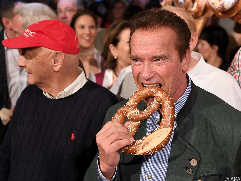Schwarzenegger war überall ein gern gesehener Gast