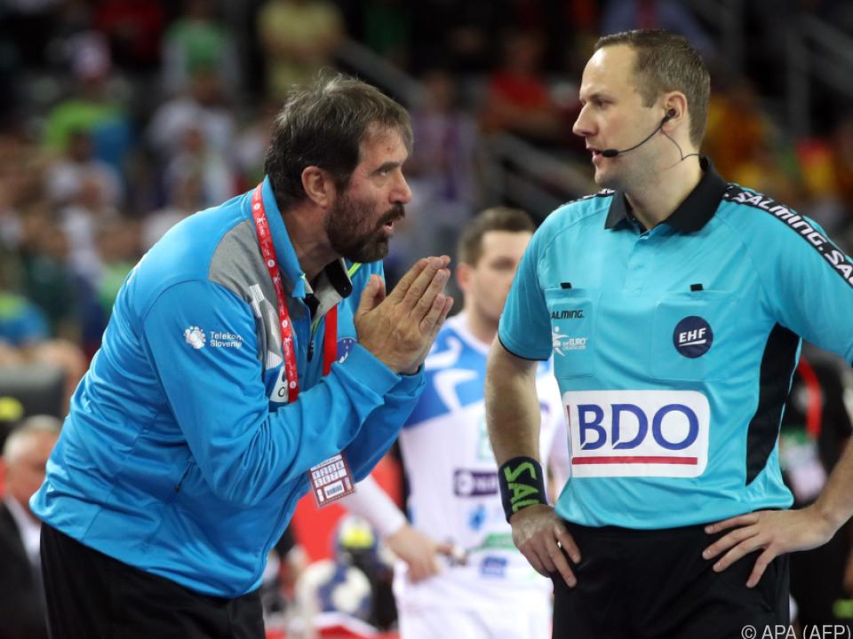 Sloweniens Coach Vujovic sprach von einem \