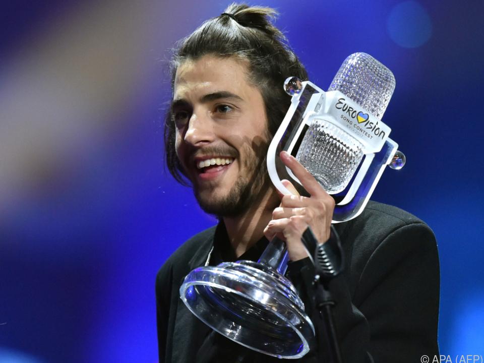 Sobral gewann im vorigen Jahr den ESC