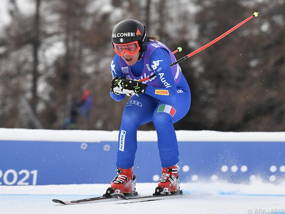 Sofia Goggia bereits in Olympia-Form