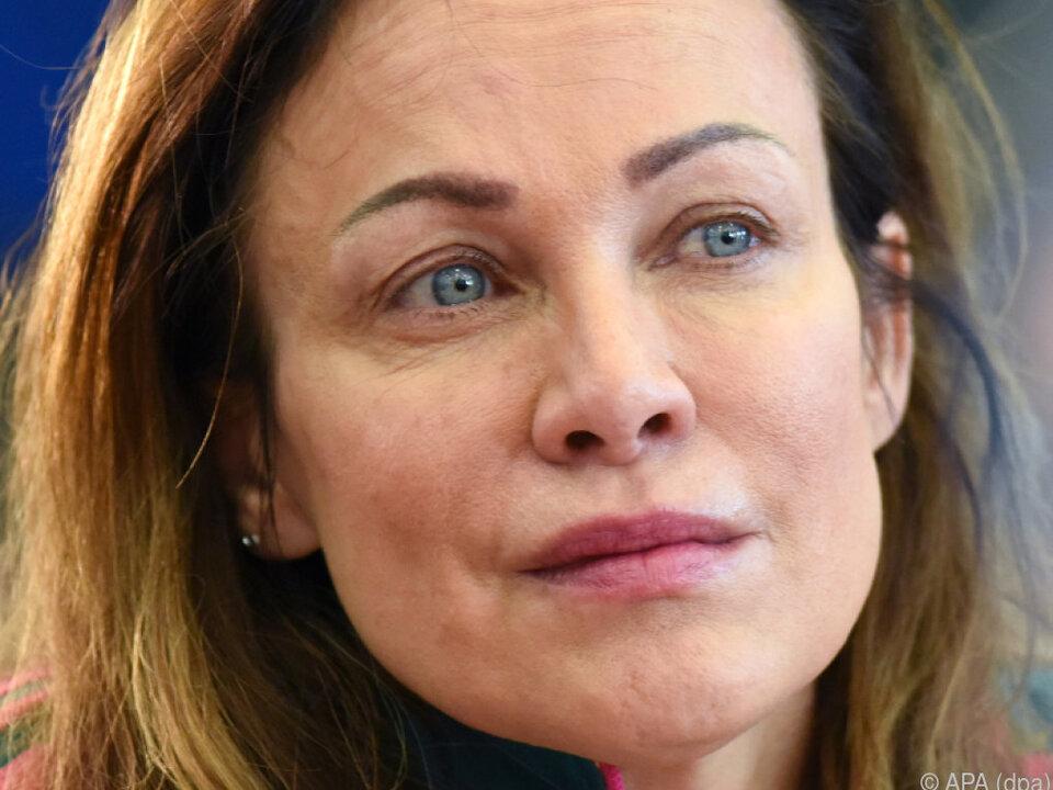 Sonja Kirchberger hörte nur Gerüchte über Affären