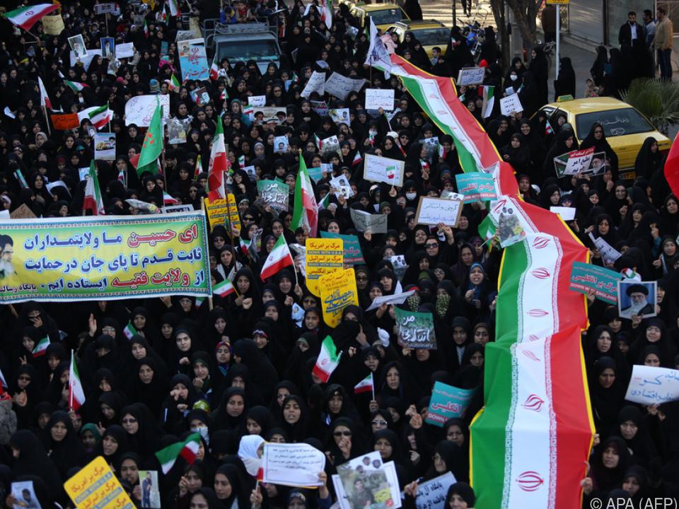 Sorge um die Sicherheitslage im Iran