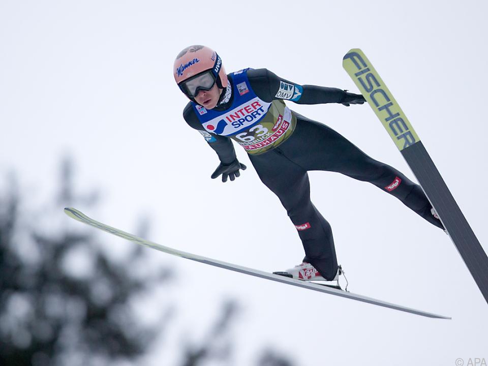 Stefan Kraft überzeugte in der Qualifikation