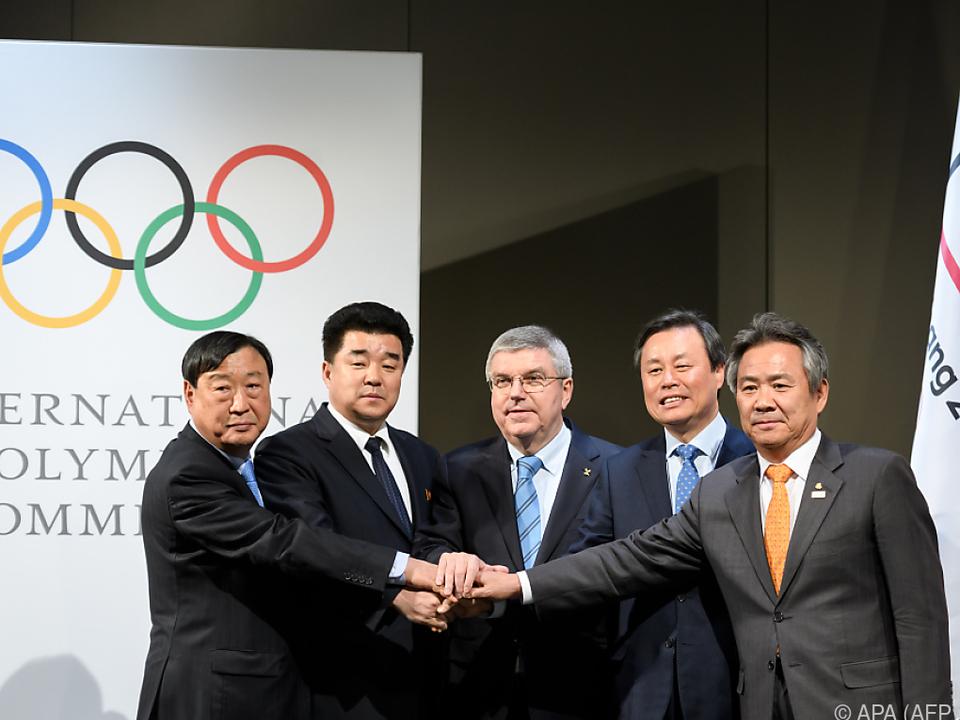 Teilnahme nordkoreanischer Sportler wurde in Lausanne besiegelt