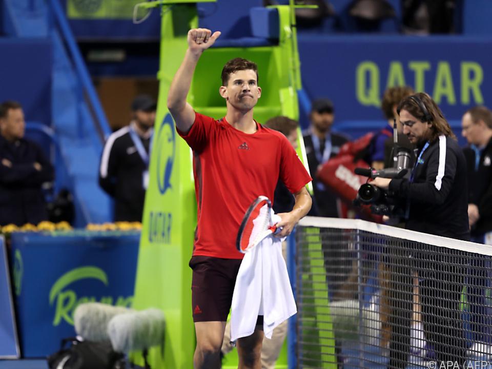 Thiem will Djokovic kein leichter Gegner sein