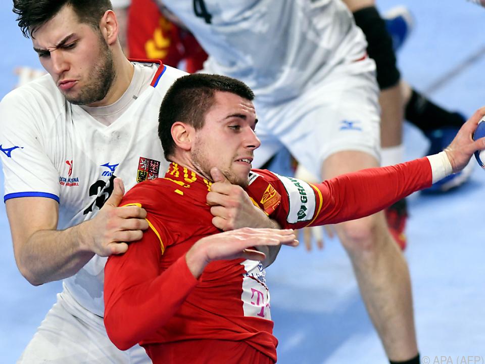 Tschechien rang Mazedonien nieder
