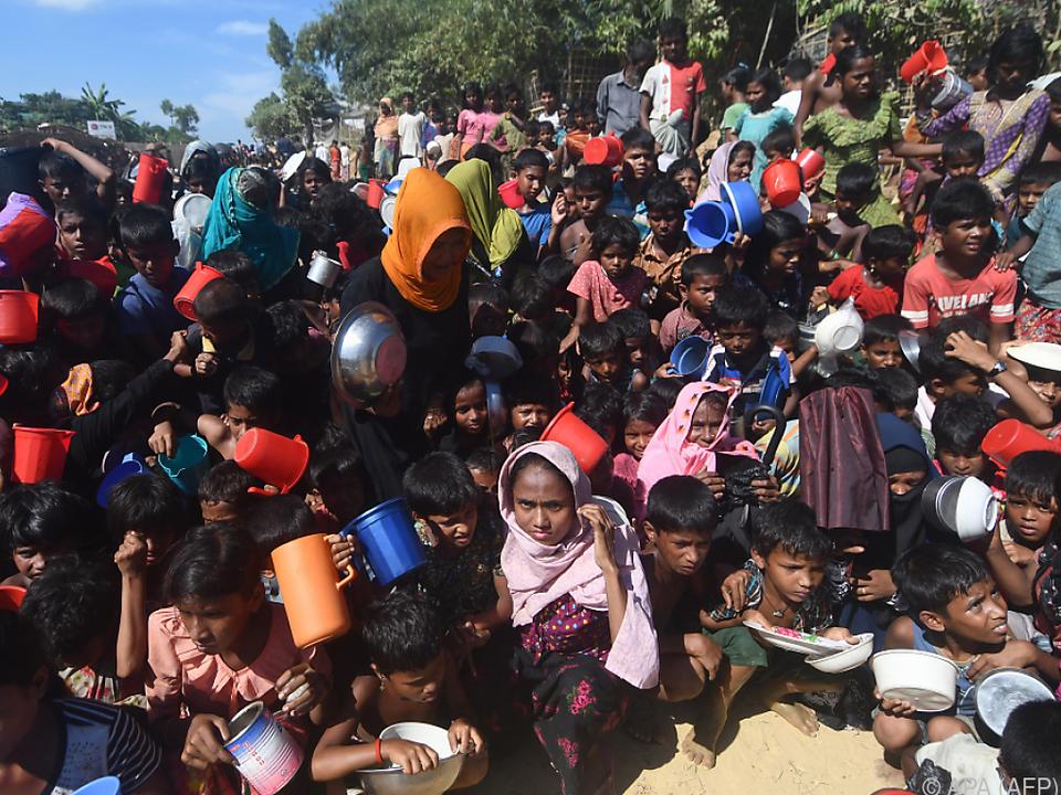 Über 640.000 Rohingya flohen vor Übergriffen