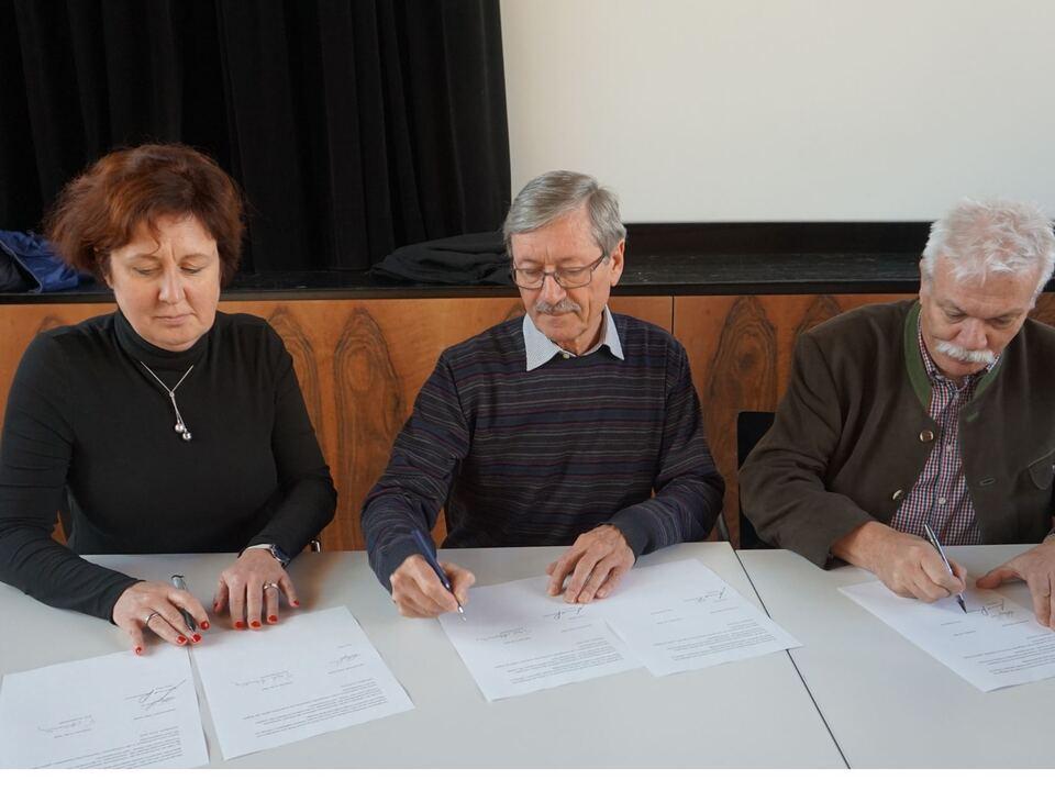 unterzeichnung pendler