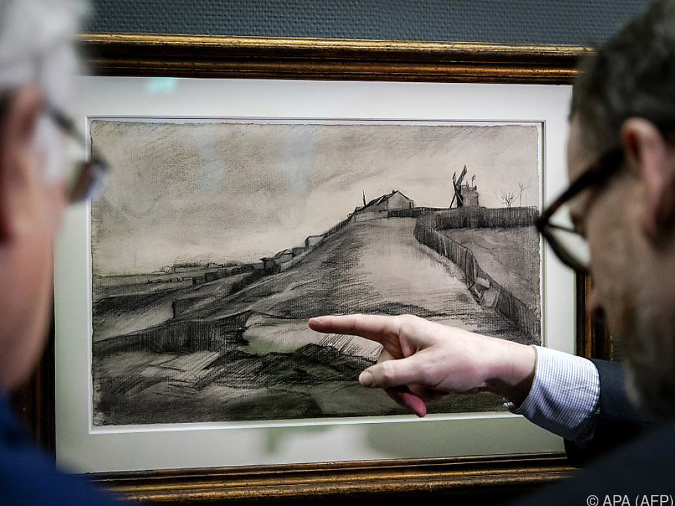 Van Gogh soll die Zeichnungen Anfang 1886 in Paris angefertigt haben