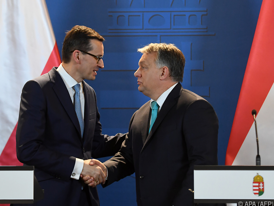 Viktor Orban empfing Mateusz Morawiecki