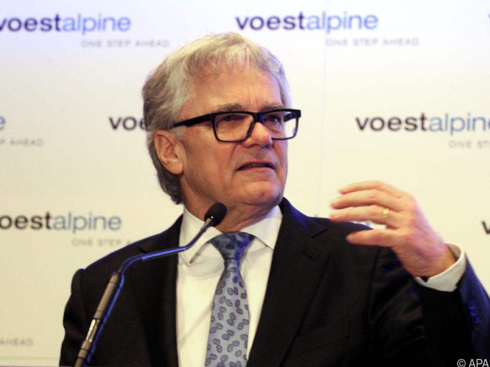 voestalpine-Chef Wolfgang Eder