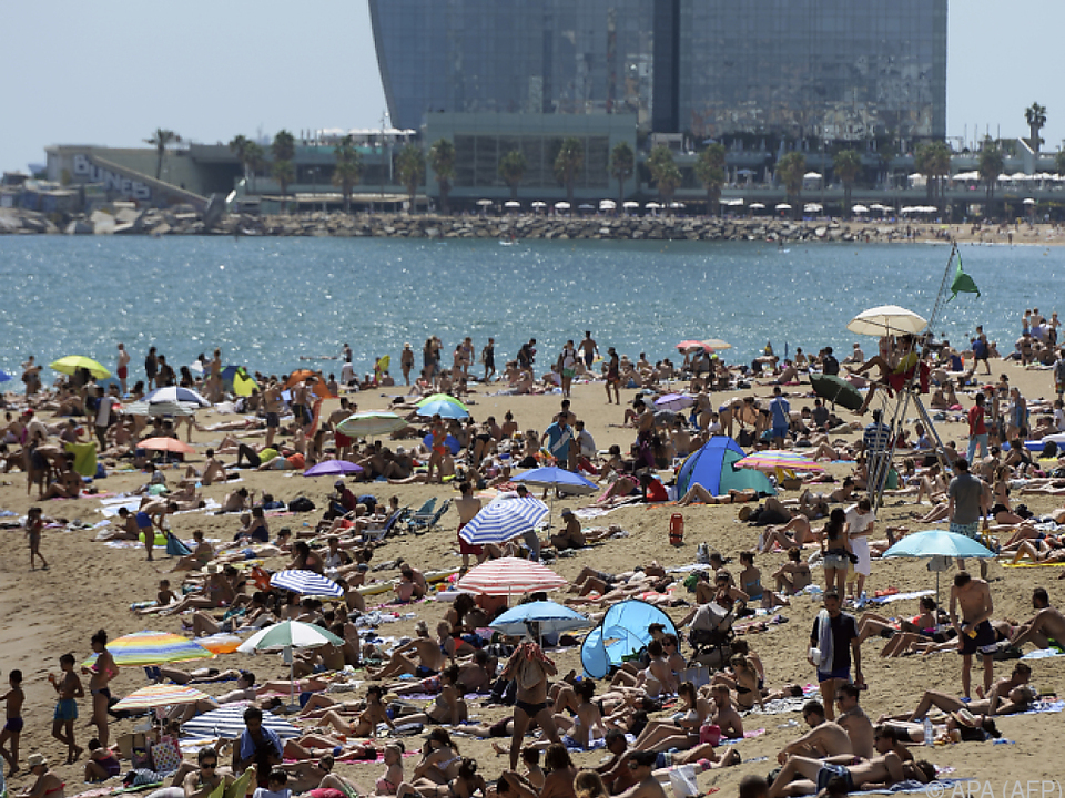 Vor allem Barcelona ist bei Urlaubern beliebt