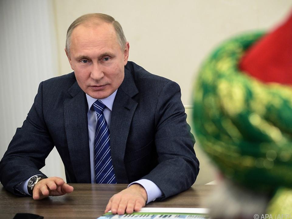 Was wusste der russische Präsident?