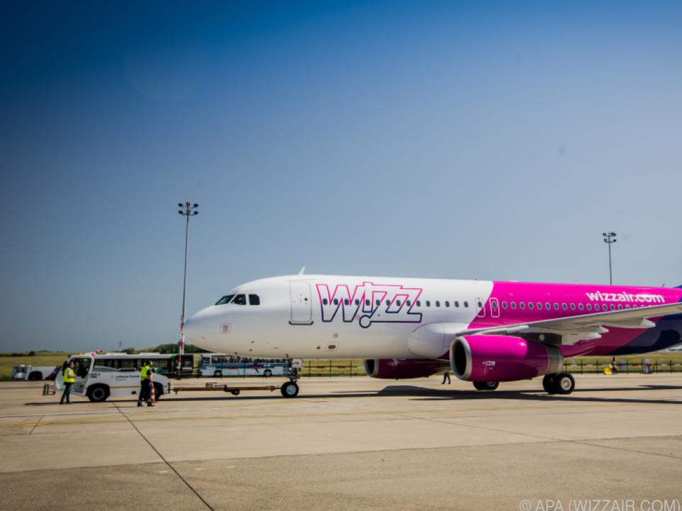 Wizz Air will 17 Flugverbindungen von und nach Wien aufnehmen