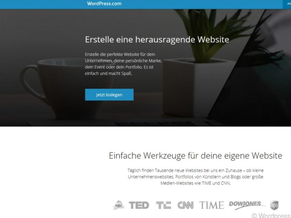 Wordpress hilft bei der Gestaltung von Webseiten und Blogs