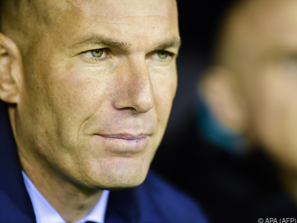Zidane will sich Real nicht schlechtreden lassen